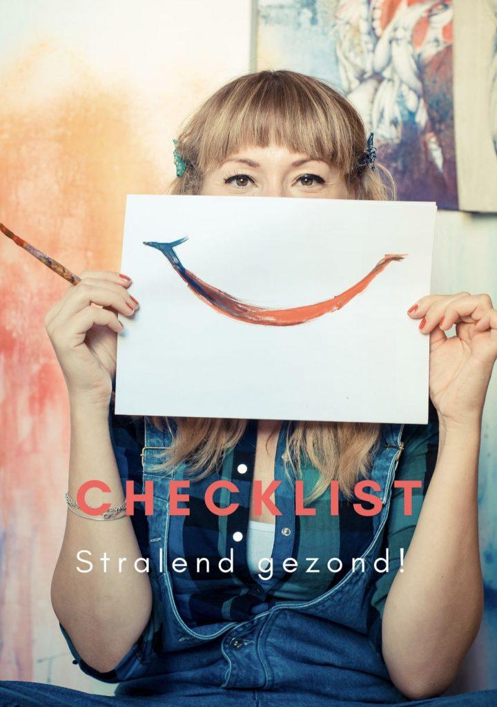 checklist stralend gezond